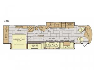 Discovery LXE 40G Floorplan Image