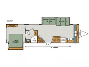 Spree S302FKF Floorplan Image