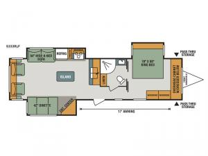 Spree S333RLF Floorplan Image