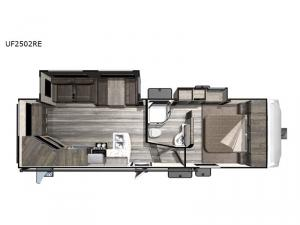 Open Range Ultra Lite UF2502RE Floorplan Image