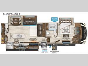Solitude 344GK R Floorplan Image
