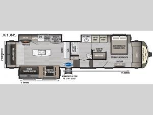 Montana 3813MS Floorplan Image