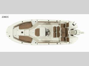 Stingray 236CC Floorplan Image