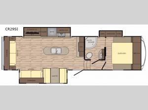 Cruiser Aire CR29SI Floorplan Image