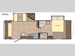 Cruiser Aire CR25RL Floorplan Image