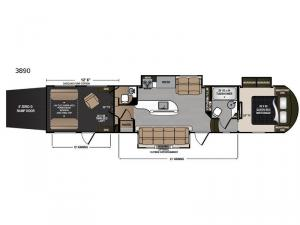 Voltage Epic V3890 Floorplan Image