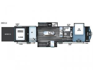 Vengeance Touring Edition 38D12 Floorplan Image