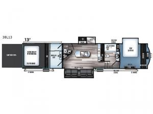 Vengeance Touring Edition 38L13 Floorplan Image