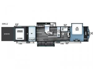 Vengeance Touring Edition 39R12 Floorplan Image