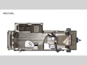 Mesa  Ridge Lite MR2710RL Floorplan Image