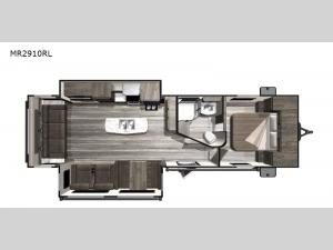 Mesa  Ridge Lite MR2910RL Floorplan Image