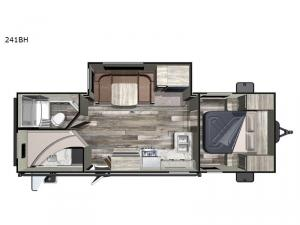 Super Lite 241BH Floorplan Image