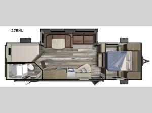 Launch Outfitter 27BHU Floorplan Image