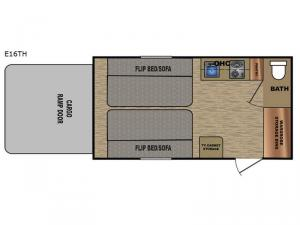 Express E16TH Floorplan Image