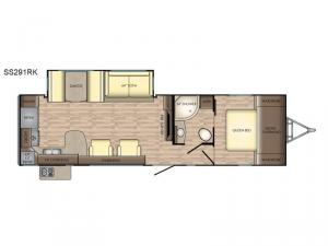 Sunset Trail Super Lite SS291RK Floorplan Image