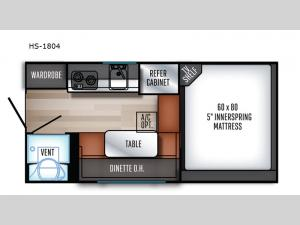 Real-Lite HS-1804 Floorplan Image