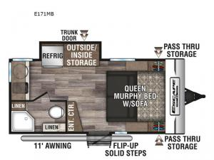 Escape E171MB Floorplan Image