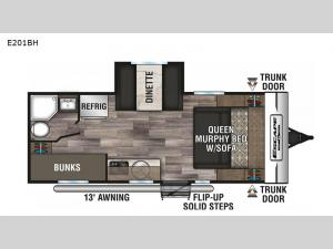 Escape E201BH Floorplan Image