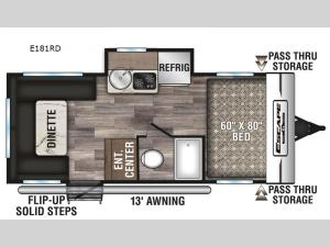 Escape E181RD Floorplan Image