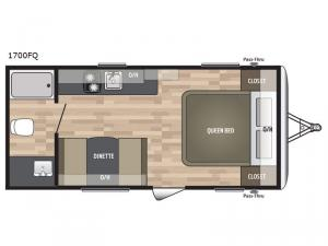 Summerland Mini 1700FQ Floorplan Image