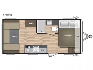 Summerland Mini 1750RD Floorplan Image
