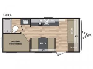 Summerland Mini 1850FL Floorplan Image