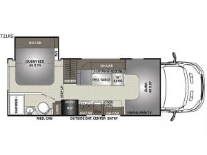 Orion LE T21RS Floorplan Image