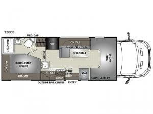 Orion LE T20CB Floorplan Image