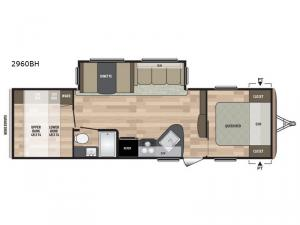 Summerland 2960BH Floorplan Image