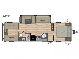 Summerland 2980BH Floorplan Image