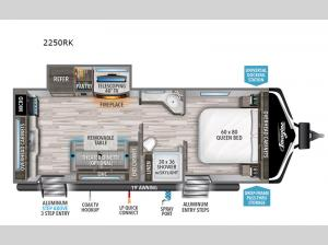 Imagine 2250RK Floorplan Image