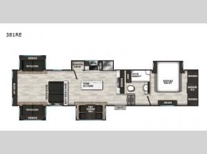 Phoenix 381RE Floorplan Image
