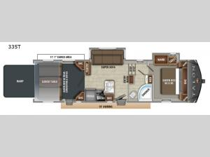 Talon Platinum 335T Floorplan Image