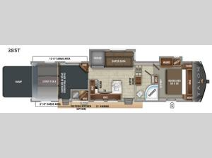 Talon Platinum 385T Floorplan Image