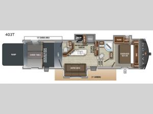 Talon Platinum 403T Floorplan Image
