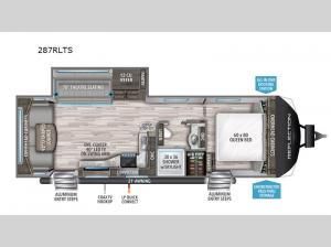 Reflection 287RLTS Floorplan Image