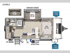 Surveyor Legend 202RBLE Floorplan Image