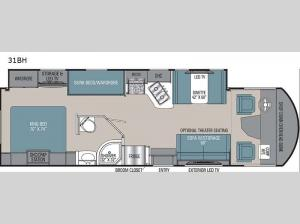 Pursuit 31BH Floorplan Image