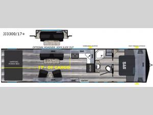 Weekend Warrior Widebody JJ3300 Floorplan Image