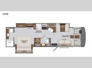 Invicta 33HB Floorplan Image