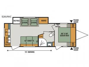 Spree S261RKC Floorplan Image