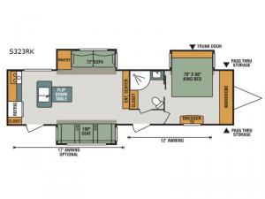 Spree S323RK Floorplan Image