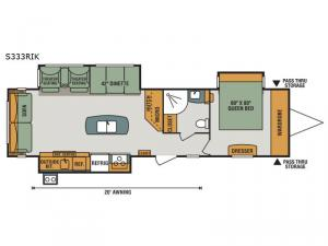 Spree S333RIK Floorplan Image