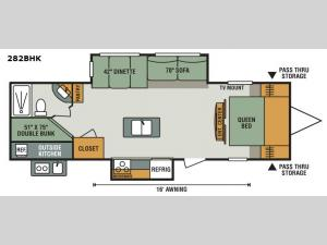 Sportsmen 282BHK Floorplan Image