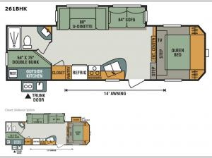 Sportsmen 261BHK Floorplan Image