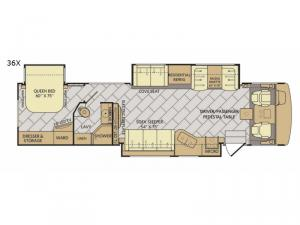 Bounder 36X Floorplan Image