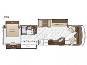 Bay Star 3406 Floorplan Image