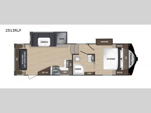 Astoria 2513RLF Floorplan Image