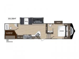 Astoria 3013BHF Floorplan Image