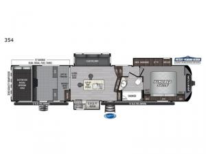 Raptor 354 Floorplan Image